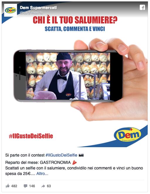 il gusto dei selfie dem